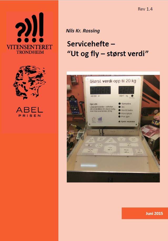 Servicehefte – Ut og fly – størst verdi forside