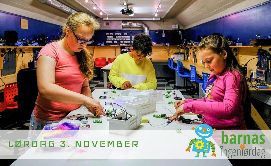 Barnas ingeniørdag 2018