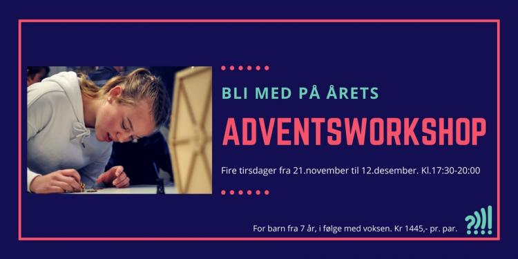 Adventsworkshop på Vitensenteret