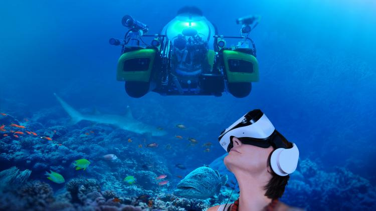 Sir David Attenborough's Great Barrier Reef Dive VR