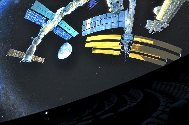 Planetarium på Vitensenteret i Trondheim